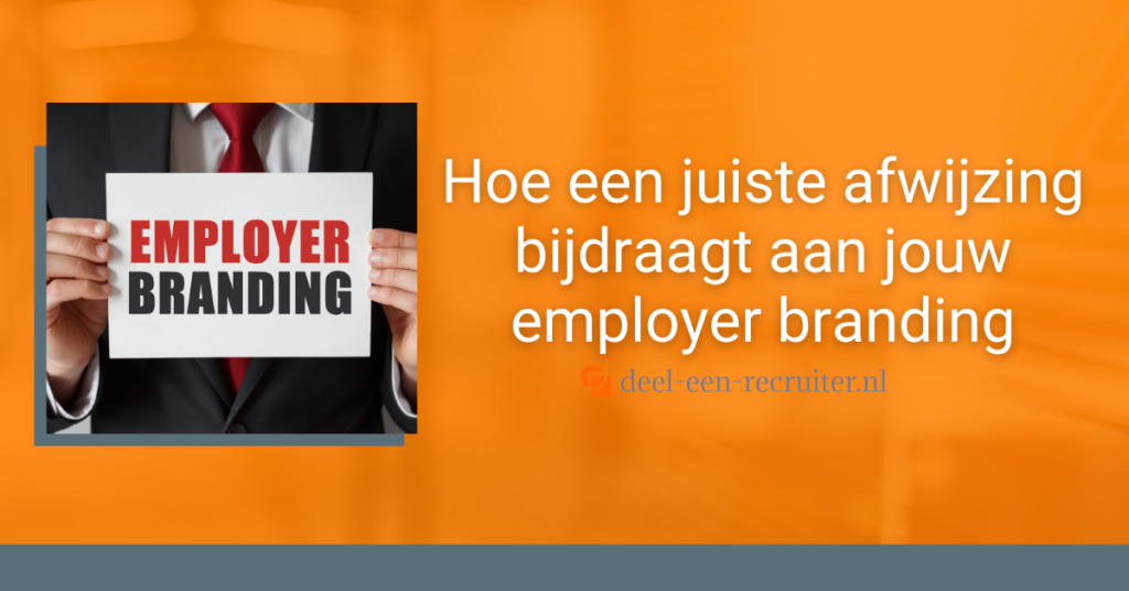 Afwijzing employer branding